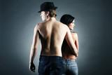 Fototapeta mężczyźni - kobiety - Nagość / Wdzięk