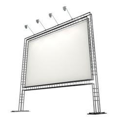 blank banner on truss system
