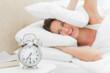 Alarms clock ringing loudly