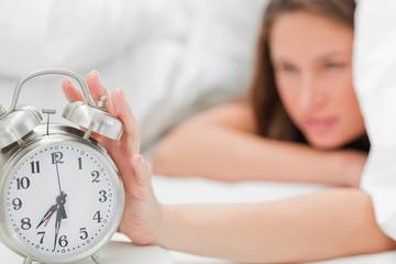 Alarm clock is turned off