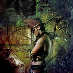 cyberpunk boy