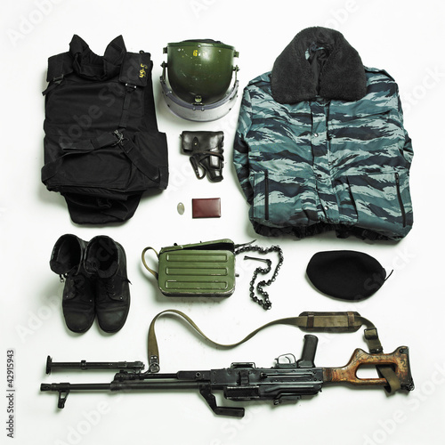 Ammunition and equipment