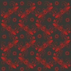 Vintage Hintergrund schwarz rot