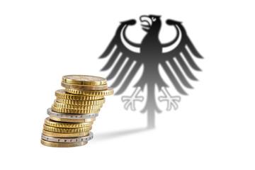 Euromünzen - Bundesadler