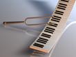 Stimmgabel Tastatur