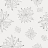 Seamless texture of a flower. EPS10