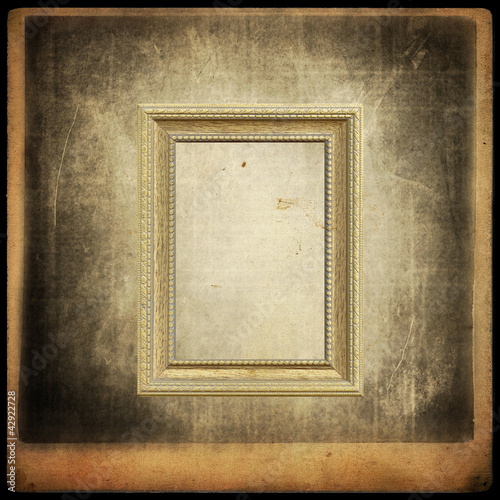 Old texture grunge with frame