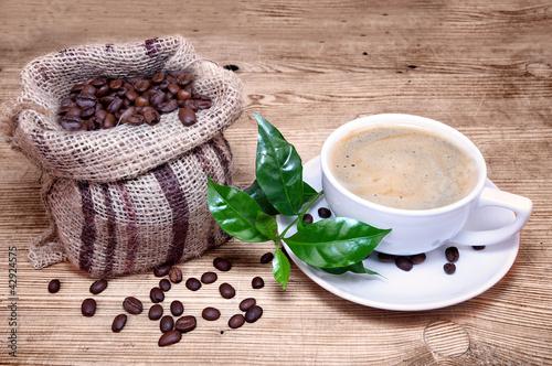 frischer heißer Kaffee