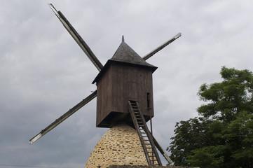 ancien moulin en Mayenne, France