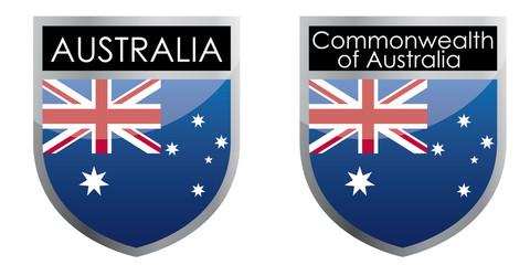 Australia flag emblem