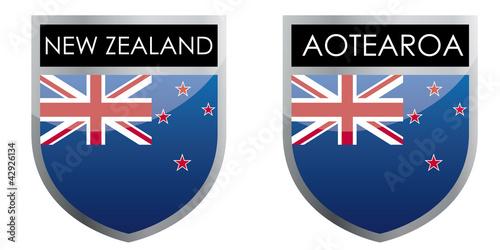 New Zealand flag emblem