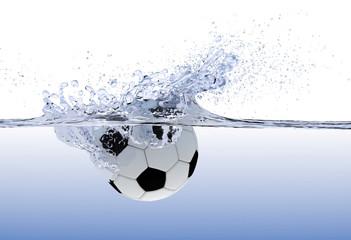 Fußball platsch