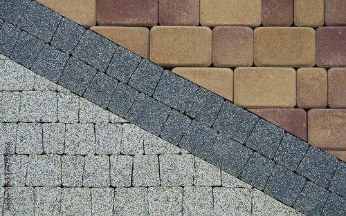 pattern on the pavement - 42928156