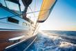 Leinwanddruck Bild - Sailing