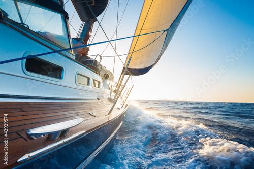 Foto op Aluminium Jacht Sailing
