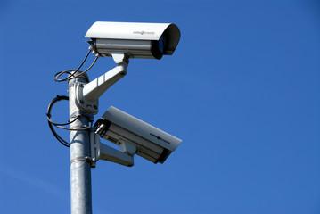 Überwachungskameras, Videoüberwachung, Sicherheit, Schutz