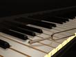Tastatur Stimmgabel