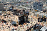 City center las vegas being built.