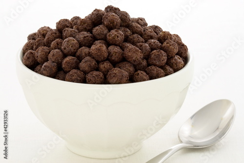 Delicious healthy chocolate kids cereal