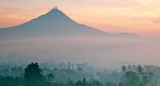 Panorama of Mount Merapi