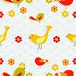 Fresh floral season pattern