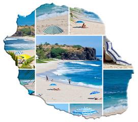 île de la Réunion, plages