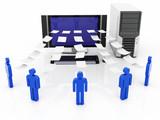 Computer Network server data sharing