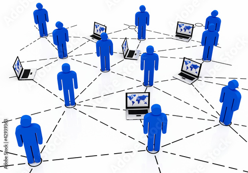 Business team Network