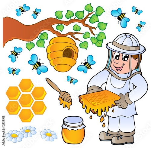 Honey bee theme collection