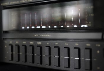 Equalizer, Audio system close up