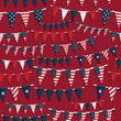 usa party bunting