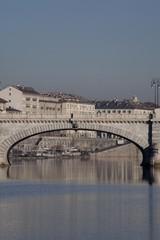 Torino, Ponte Umberto Primo e Murazzi sul Po