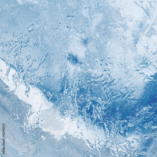 Ice background © Ayvengo