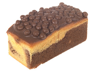 Chocolate Madeira Marble Loaf Cake