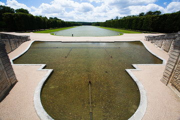 France, park of Versailles palace