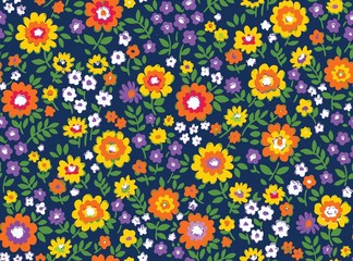 floral vector seamless composition background