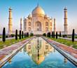Leinwanddruck Bild - Taj Mahal