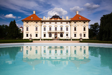 Castle in Slavkov - Austerlitz near Brno,