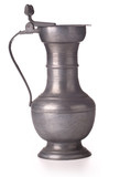 pewter beer jug
