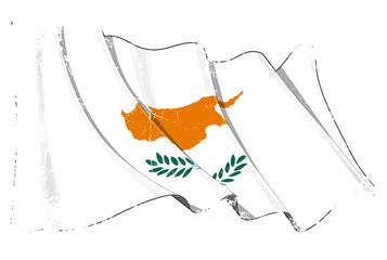 Grunge Flag of Cyprus
