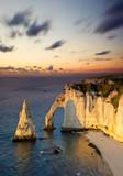 Fototapety Etretat France