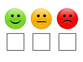 Smiley vote boxes