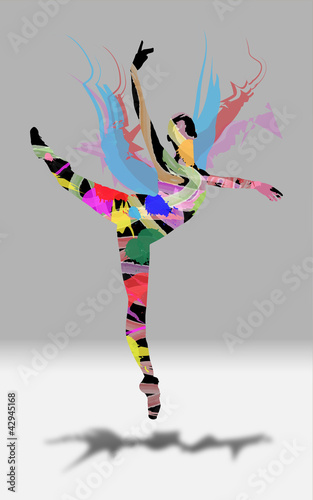 Dancer Silhouette Color