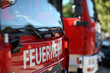 canvas print picture - Feuerwehr