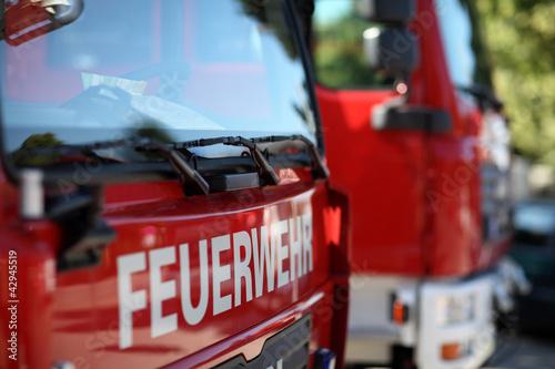 canvas print picture Feuerwehr