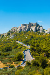 Les Baux de Provence Cliffs Ruins V