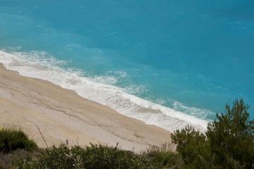 Mylos beach on Lefkada