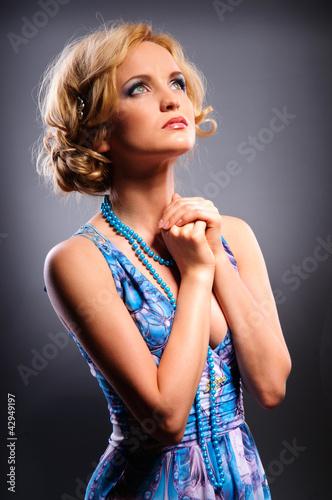 Perfect beauty woman