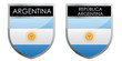 Argentina flag emblem