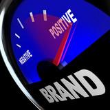 Brand Gauge Measuring Identity Loyalty Response Impression poster